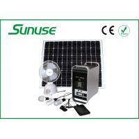 Wholesale 18.4V 100W complete home Solar Power System for MP3 player / radio from china suppliers