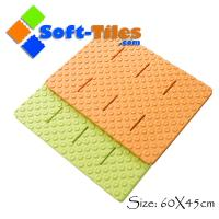 Wholesale EVA anti slip bath rugs non-toxic , anti-slip design without borders from china suppliers