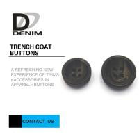 Wholesale Concave Surface Trench Coat Buttons Diverse Design With Strong Simulation from china suppliers