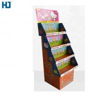 Buy cheap Customized Foldable 4 tiers Cardboard Display , hard cardboard for toys doll from wholesalers