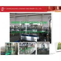 Wholesale turn-key fully automatic carbonated beverage filling production line for Russia from china suppliers