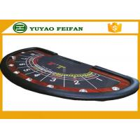 Quality Professional Modern Half Round Texas Holdem Poker Table With 8 Cup Holders for sale
