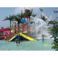 Wholesale Kids Water Play Park , Splashers Water Playground With Water Curtain from china suppliers