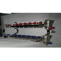 Buy cheap Sliver Hot Water Radiant Underfloor Heating Manifold With Short Flow Meter 110℃ from wholesalers