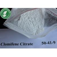 Wholesale CAS 50-41-9 99% Pure Anti Estrogen White Steroids Powder Clomifene Citrate from china suppliers
