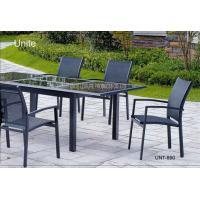 Wholesale Outdoor Garden Patio Table Set For Dinning , Garden Furniture Table And Chairs from china suppliers
