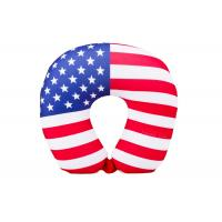 Wholesale Personalized US Flag Airplane Neck Pillow , U Shaped Neck Pillow For Travel from china suppliers