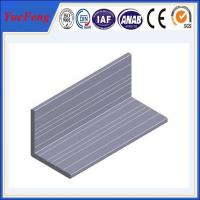 Wholesale High quality Aluminum angle with ISO9001:2008 certificate from china suppliers