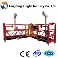 Wholesale special steel structure platform/ access suspended platform/ powered suspended platform from china suppliers