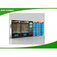 Wholesale Chicken And Beef Fast Fresh Food Vending Machine CE Certification from china suppliers