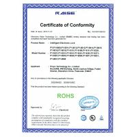Shenzhen Proyu Technology Co., Limited Certifications