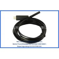 "Quality 1/6""CMOS 5 Meters 9MM Diameter 6 LED Lights Camera USB Industrial Pipe Endoscope for sale"