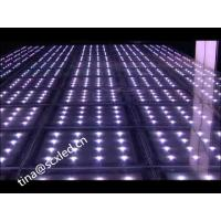 Wholesale Optical Illusions Mirror Wedding Dance Floor , Light Up Floor Tiles MBI 5024 IC from china suppliers