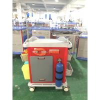 Buy cheap Mute Wheel ABS Hospital Medicine Trolley from wholesalers