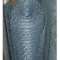 Wholesale 0.23mm / 1.60mm Diameter Galvanised Wire Mesh With Hot-galvanized from china suppliers