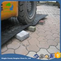 Wholesale UHMWPE Recycle Material Temporary Road Grass Protection Mat Custom Size Tree Clearance Use from china suppliers
