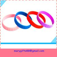 Wholesale cheap debossed silicone bands from china suppliers
