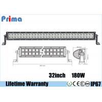 "Wholesale 32"" 180 Watt Cree LED Car Light Bar Flood / Combo / Spot Beam Angle from china suppliers"