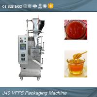Wholesale Full Automatic Honey / Ketchup Packing Machine , Small Sachet Packing Machine from china suppliers