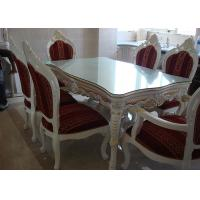 Buy cheap White Wooden Dining Table And Chairs For Modern Dining Room Furniture Sets from wholesalers