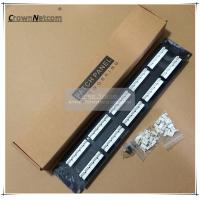 Wholesale 110 Type Voice Data Patch Panel 50Port Patch panel from china suppliers