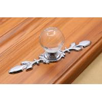 Quality Round Crystal Pulls Drawer Handle Furniture Pulls Handles for sale