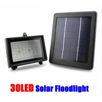 Quality Solar Powered 30LED Light Power Spotlight Garden Lawn Lamp Waterproof Flood Light for sale