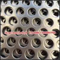 Wholesale Staggered 60 aluminum perforated metal screen sheet from china suppliers