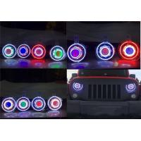 """Wholesale Jeep JK Wrangler 7"""" HID & LED Headlights 7 Color Options from china suppliers"""