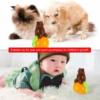 Quality Christmas Gift Cute Pet Toys , ABS Material Tumbler Cat Toy Funny Sunds Light for sale