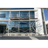 Aluminum Scaffold Tower : Protable folding mobile painting plastering scaffold tower