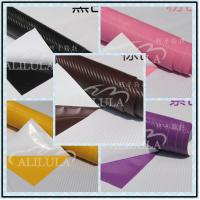 Wholesale 3D Black Carbon Fiber Vinyl Car Wrap Sheet Roll Film Sticker Decal Sales from china suppliers