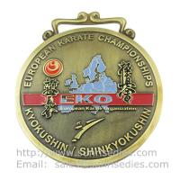 Wholesale Personalized Metal medal manufacturer in China, custom enamel metal medallion maker, from china suppliers