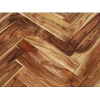 Wholesale natural herringbone acacia hardwood flooring from china suppliers