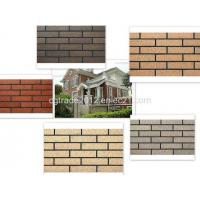 Quality External Wall Ceramic Rustic Bricks Tiles Stone for sale