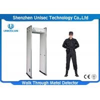 Wholesale 6/12/18 Zone Security Guard Metal Detector Body Scanner For Safely Detection from china suppliers