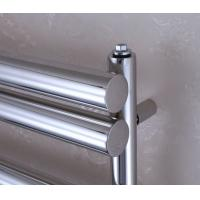 Wholesale Electric Heated Towel Rail With Thermostat And Timer For Bathrooms Big Round Tube from china suppliers