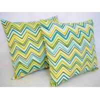 Wholesale Canvas Custom Printed Pillows / couch striped Throw Pillows from china suppliers