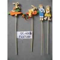China Wooden easter pick on sale