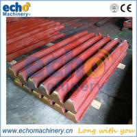 Buy cheap high manganese jaw crusher casting components wear liner for quarry from wholesalers