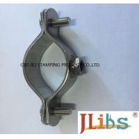 Wholesale Torque Balance SS 304 Cast Iron Pipe Clamps M8 Nut Without Rubber For Gas Pipeline from china suppliers