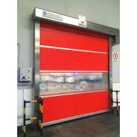 Wholesale Colorful Fast Moving Interior High Speed Shutter Door With Wind - Bar CE from china suppliers
