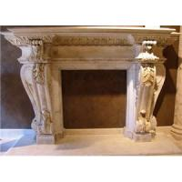 Wholesale Indoor Natural Stone Fireplace,Marble ,Granite Fireplace,Fireplaces.Stone carving from china suppliers