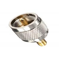 Buy cheap Brass RF Antenna Connector Straight F Male To SMA Female Adapter from wholesalers