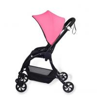 Wholesale pink concise baby stroller with multi-function complied with EN1888:2012 new design buggy from china suppliers