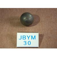Wholesale High Impact Value Forged Grinding Media Steel Balls / Hot Rolling Steel Ball 30mm from china suppliers