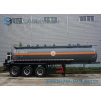 Wholesale Sodium Hydroxide Solution Chemical Tank Trailer , 20 m3 Carbon Steel Tank from china suppliers