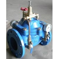 Wholesale Hydraulic Control Pressure Reducing Valves DN100 PN16 With Double Gauge from china suppliers