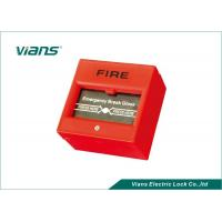 Wholesale Red Break Glass Emergency Call Point , Emergency Door Release Button from china suppliers