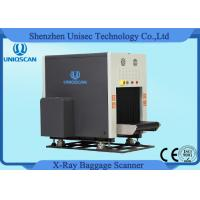 Wholesale Dual View X Ray Luggage Scanner , Two Generator X Ray Baggage Inspection System from china suppliers